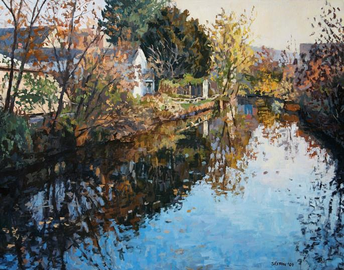 Autumn Canal from Coryell